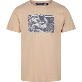 Regatta Cline IV Camiseta Hombre, oat